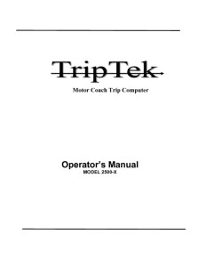 thumbnail of TripTek_2500_Manual