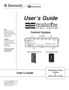 thumbnail of dometic weather pro power awning