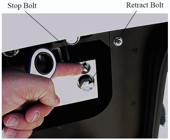 slideout bolts