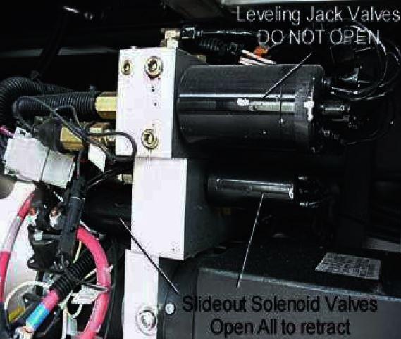 slideout solenoid valve
