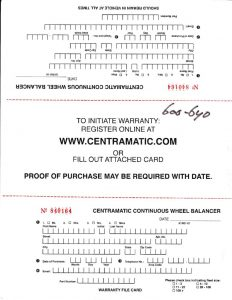 thumbnail of Centramatic warranty cards 5yr_0001